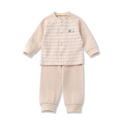 经典款 婴儿防水透气可洗护肚空气层隔尿裤 招代理 80# 棕色提花