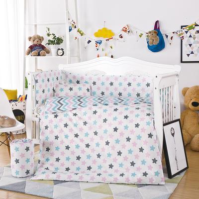 凯芙兰印花经典多件套 床围四件套 多件套 床围四件套 数星星