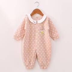 新款星星对襟连体衣 哈衣 59 粉色