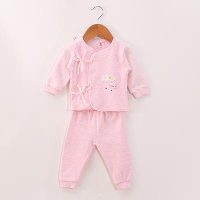 新款舒棉系带两件套 52# 粉色