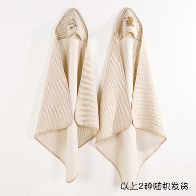 新款彩棉空气层抱被 纯棉抱被 全棉包被 招代理 一件代发 其它 绣花棕   均码
