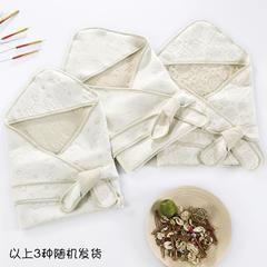 新款彩棉空气层抱被 纯棉抱被 全棉包被 招代理 一件代发 其它 提花绿均码