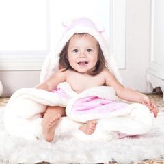 羊羔绒抱被 彩棉抱被 彩棉包被 招代理 80*80 100*100   500起批大货 其它 水晶绒-粉100*100cm