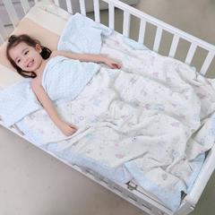凯芙兰可水洗纱布棉花被子空调被夏季 宝宝夏被 儿童夏被可爱老鼠 1.2m(4英尺)床 可爱老鼠