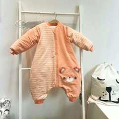 德国恒温婴儿分腿睡袋 秋冬季儿童防踢被新生儿宝宝睡袋 恒温系列代理费 桔色小熊