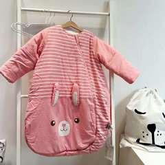 德国恒温水洗棉圆摆睡袋【预售】 70码【薄款】 红色小兔