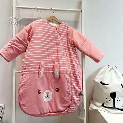 德国恒温婴儿分腿睡袋 儿童防踢被新生儿宝宝睡袋(中厚/加厚)预售 恒温代理费 红色小兔