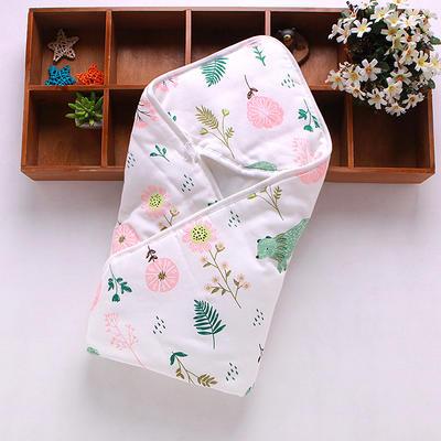 新生儿包被纯棉初生婴儿抱被春秋冬抱毯夏季薄款被子宝宝用品 其它 花儿与熊