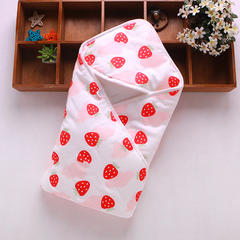 新生儿包被纯棉初生婴儿抱被春秋冬抱毯夏季薄款被子宝宝用品 其它 草莓
