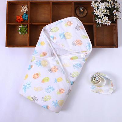 新生儿包被纯棉初生婴儿抱被春秋冬抱毯夏季薄款被子宝宝用品 其它 菠萝