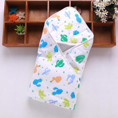 新生儿包被纯棉初生婴儿抱被春秋冬抱毯夏季薄款被子宝宝用品 其它 仙人掌
