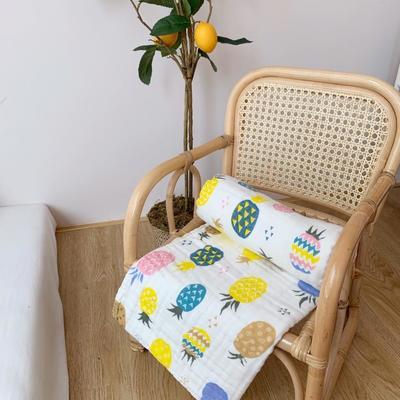2019新款40s高密浴巾110x110cm 菠萝