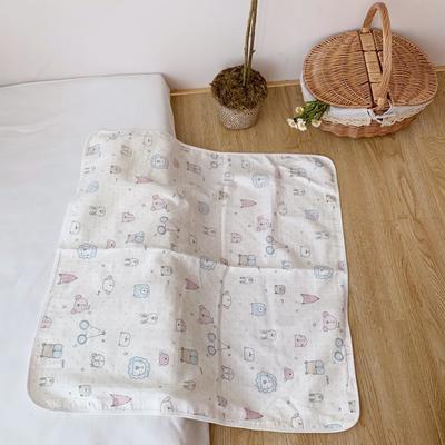 2019新款纱布4层抱被75*75 1.0m(3.3英尺)床 可爱老鼠