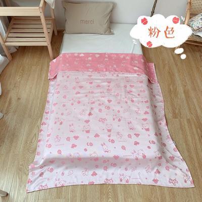 2019新款竹纤维盖毯100*130cm 100*130cm 粉色