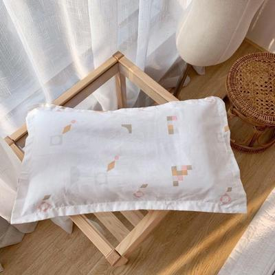 2019新款-婴幼儿全棉枕头(30x50cm) 其它 积木30*50cm(含芯)