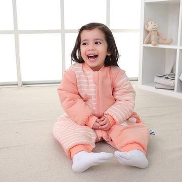 德国恒温婴儿分腿睡袋 秋冬季儿童防踢被新生儿宝宝睡袋