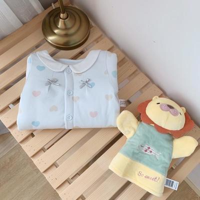 2019新款藍色愛心系列新生兒12件套 均碼 3-6個月