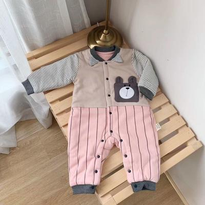 2019新款小熊系列新生儿12件套粉色 均码 0-6个月