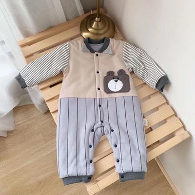 2019新款小熊系列新生儿12件套灰色 均码 0-6个月