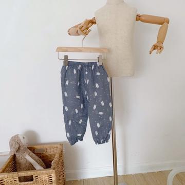 2020新款绉布纱布防蚊裤