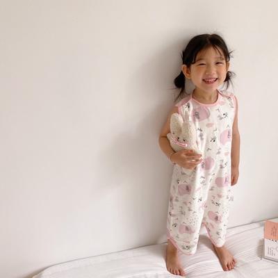 2020新款抗菌竹棉纱布背心式睡袋 菲比小象S 60cm