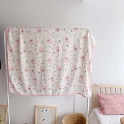 2020新款竹棉纱布双层纱盖毯 120*150cm 菲比小象