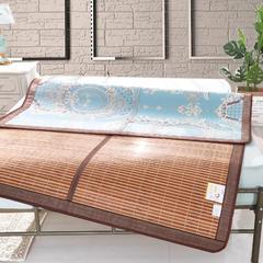 金贝壳双面竹席凉席1.8m床双人可折叠冬夏两用夏季1.5米席子2+1磨光席 1.5m(5英尺)床 2+1磨光席