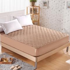 金贝壳纯棉床笠夹棉床罩加厚全棉席梦思床垫保护防滑套1.5棕垫1.8 1.0mx1.95m床 08