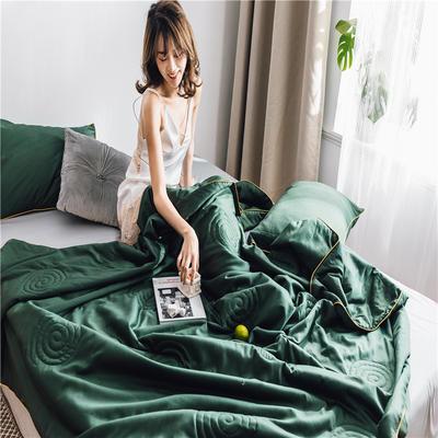 2019新款60S贡缎长绒棉夏被 200X230cm 叶绿