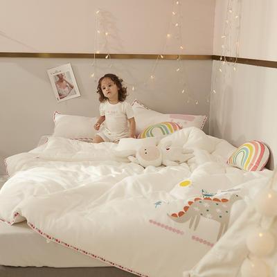 2019新款儿童刺绣系列A类被爱丽丝公主拍摄风格2 200*230冬被7斤 爱丽丝公主