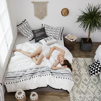 2019新款高端北欧风情刺绣2款(罗伊 肖恩)拍摄风格2 220x240cm冬被8.3斤 肖恩