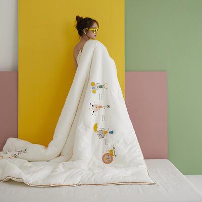 2020新款儿童刺绣A类抑菌被10款-比尔的乐园 200X230cm冬被7斤 比尔的乐园