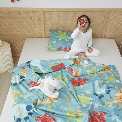 2021新款-60SA类长绒棉驱蚊儿童夏被 150x200cm 海底世界