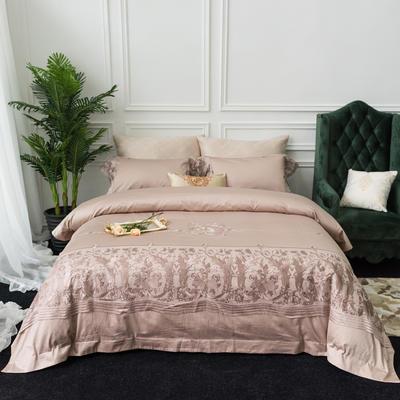 60支贡缎长绒棉秋冬款式多件套-维也纳 标准1.5m-1.8m床 维也纳