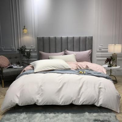 2018新款梦Draem(60S磨毛)双股长绒棉四件套 枕套/对 珍珠米