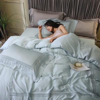 2020新款60S天丝刺绣四件套 1.8m床单款四件套 罗蒂