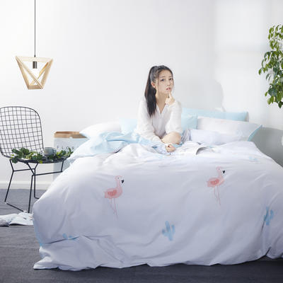 朵希曼2018新品丛林风系列全 1.2m(4英尺)床 1801150033恋鸟之语