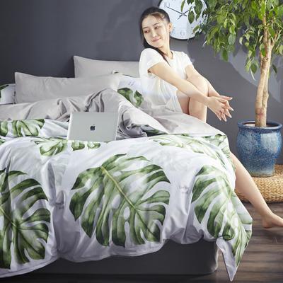朵希曼2018新品丛林风系列全 1.2m(4英尺)床 1801160051绿色迷情