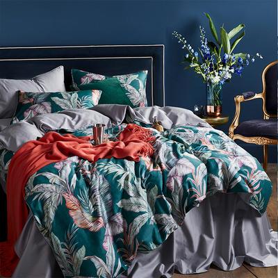 朵希曼新款60S數碼印花長絨棉系列 1.8m(6英尺)床 傾城