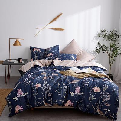 朵希曼新款60S數碼印花長絨棉系列 1.8m(6英尺)床 晚空