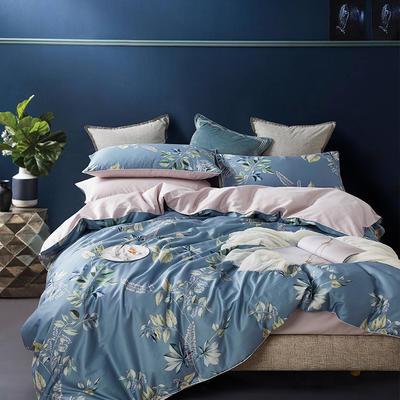 朵希曼新款60S數碼印花長絨棉系列 1.8m(6英尺)床 香榭