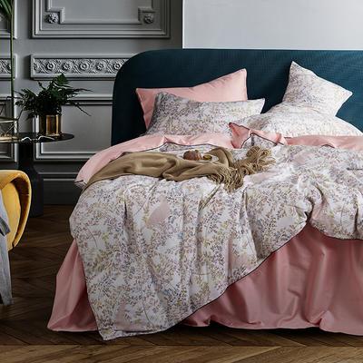朵希曼新款60S數碼印花長絨棉系列 1.8m(6英尺)床 伊蓮娜