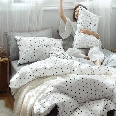 2019新款全棉小清新系列四件套 1.2m(4英尺)床 玻璃球
