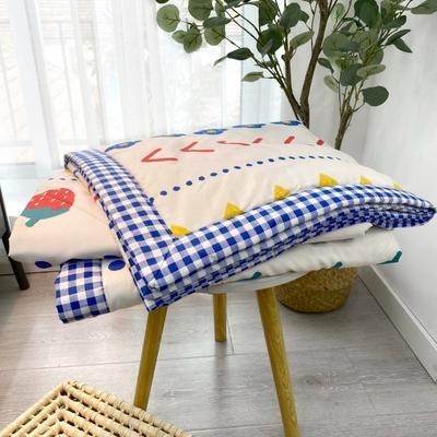 2020新款全棉夏被四件套夏被单品系列 床单180*230cm 加州花园 黄