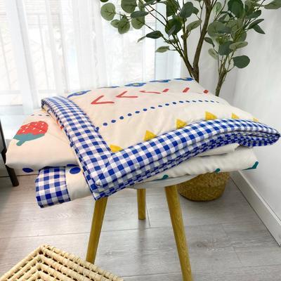 2020新款全棉夏被四件套夏被单品系列 床单180*230cm 波西草莓