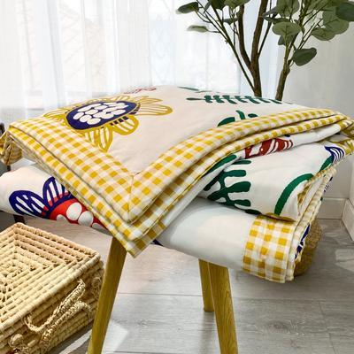 2020新款全棉夏被四件套夏被单品系列 床单180*230cm 梵高之花