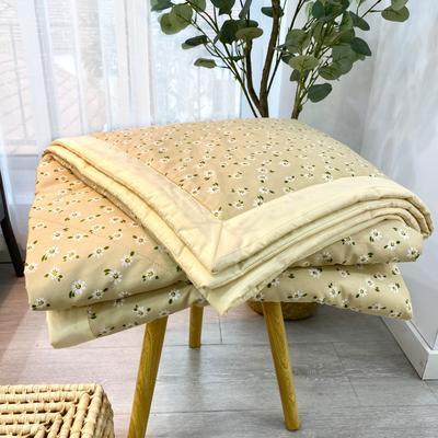 2020新款全棉夏被四件套夏被单品系列 床单180*230cm 花期
