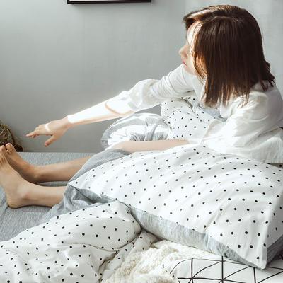 2020新款特价全棉系列四件套 1.5m床单款四件套 玻璃球