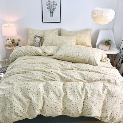 2020新款特价全棉系列四件套 1.5m床单款四件套 花期