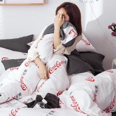 2020新款特价全棉系列四件套 1.5m床单款四件套 可乐